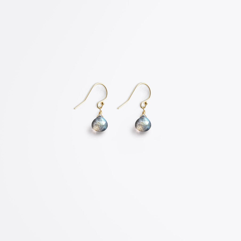 Wanderlust Life Labradorite Isla Drop Earrings