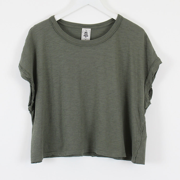 Free People You Rock Moss Green