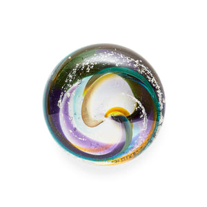 Gray Art Glass; Michael Gray; Angelina Dunn; Art; Art Glass; Memorial; Cremation; Cremains; Memorial Art; Memorial Glass; Memorial Art Glass; Ontario; Canada; Ontario Memorial; Merrickville; Urn; Funerary Art; Ash; Ash Art; Ash Glass; Touchstone; Memorial Keepsake