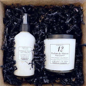 Classic Gift Set: 11 oz Scented Candle & XLuxe Room Spray