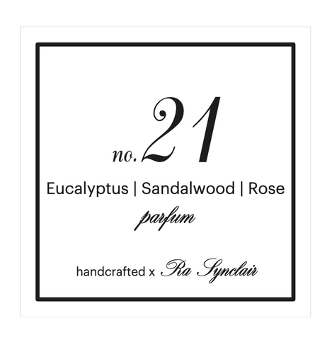 Fragrance no. 21 Eucalyptus | Sandalwood | Rose
