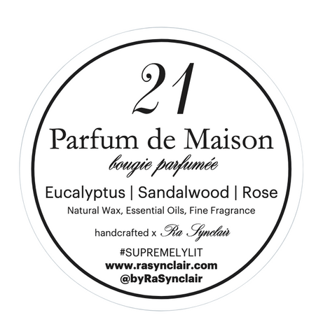 no. 21 Eucalyptus | Sandalwood | Rose