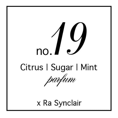 Fragrance no. 19 Citrus | Sugar | Mint