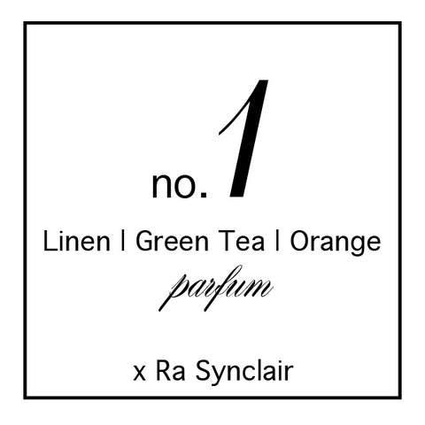 Fragrance no. 1  Linen | Green Tea | Orange