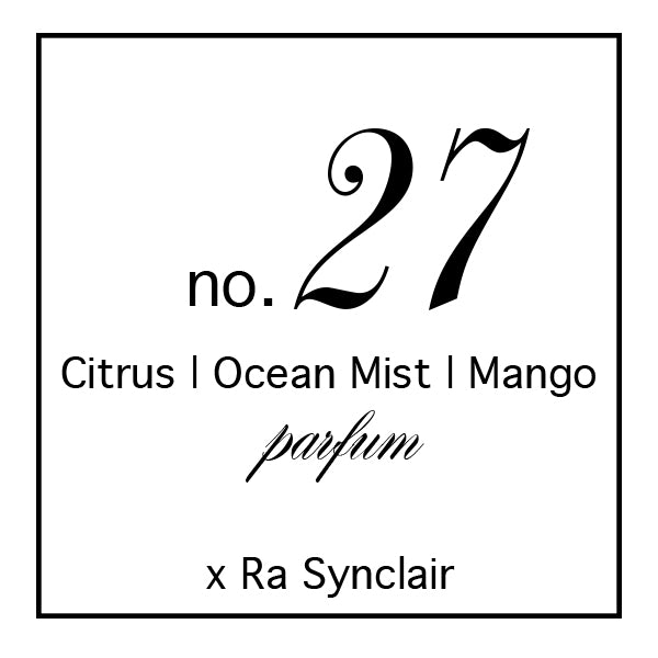 Fragrance no. 27 Citrus | Ocean Mist | Mango