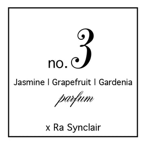 Fragrance no. 3 Jasmine | Grapefruit | Gardenia