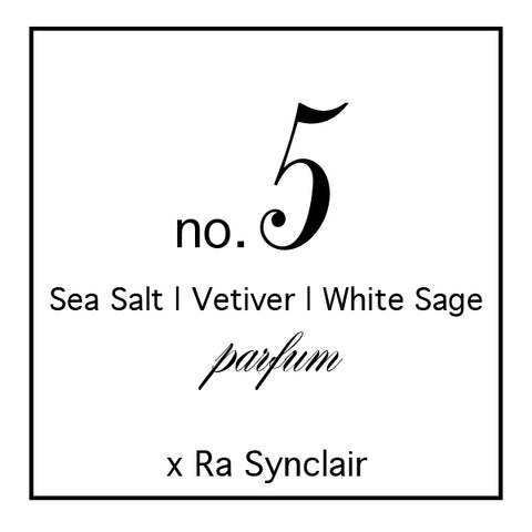 Fragrance no. 5 Sea Salt | Vetiver | White Sage
