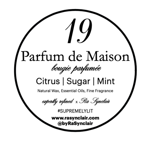 no. 19 Citrus | Sugar | Mint