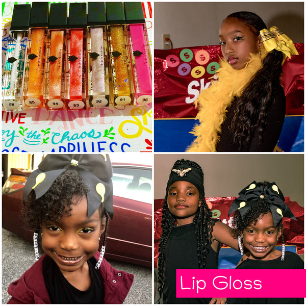 Lip Gloss -  Gleaming Glitter Lip Gloss