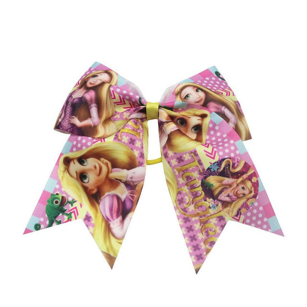 7 Inch Printed Bows