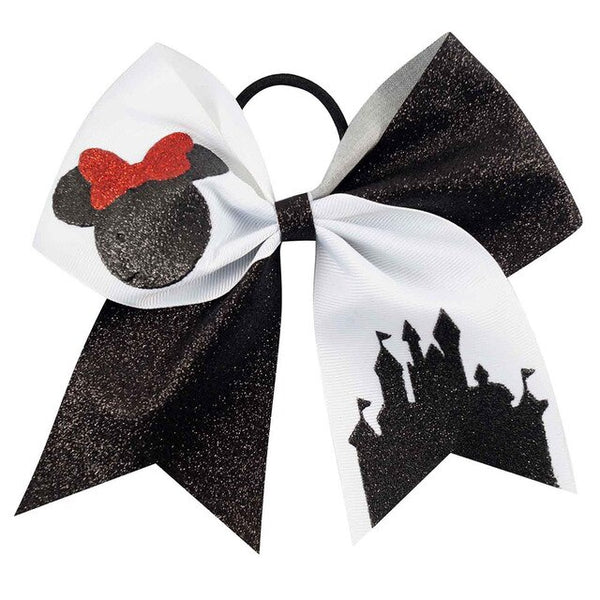 7 Inch Boutique Glitter Rope Hairbows