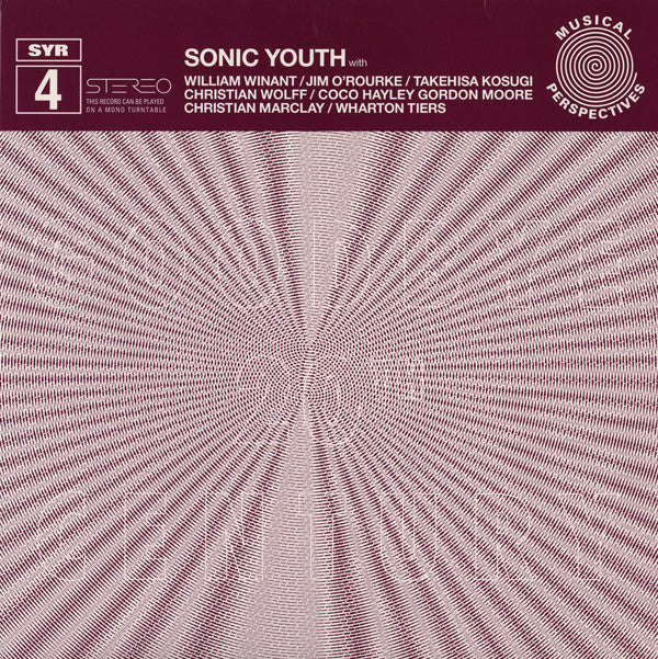 Sonic Youth 'Goodbye 20th Century' - Cargo Records UK