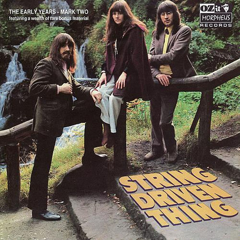 String Driven Thing ‎'The Early Years 1968-1972' - Cargo Records UK