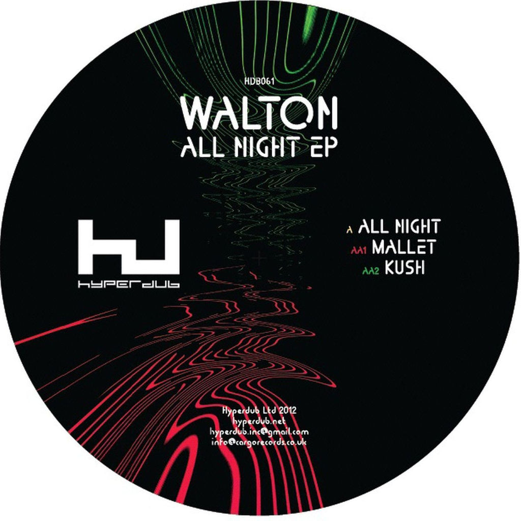 Walton 'All Night EP' - Cargo Records UK
