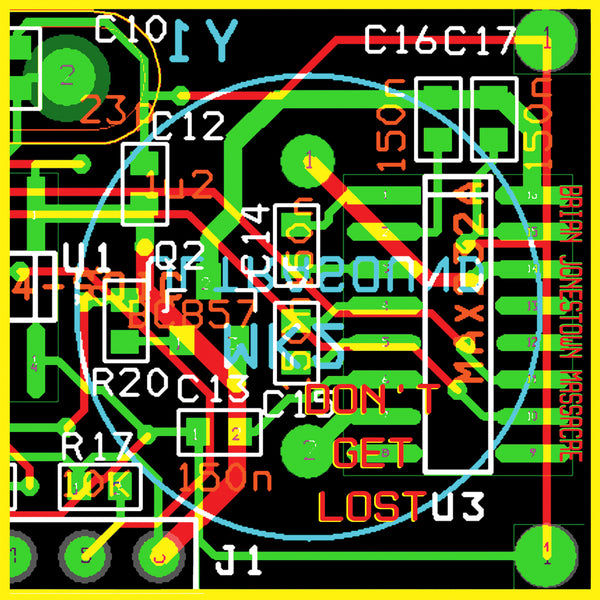 The Brian Jonestown Massacre 'Don't Get Lost' - Cargo Records UK - 1