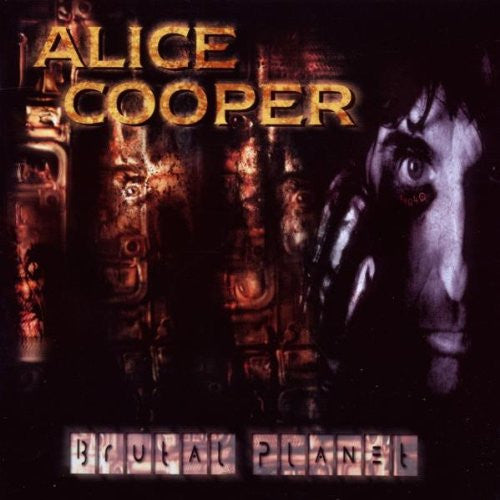 Alice Cooper 'Brutal Planet' - Cargo Records UK