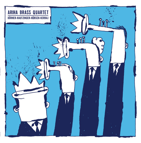 Ariha Brass Quartet 'Ariha Brass Quartet' PRE-ORDER - Cargo Records UK