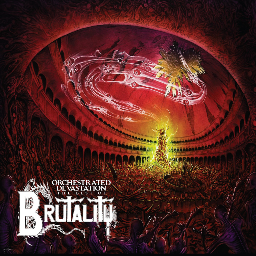 Brutality 'Orchestrated Devastation : The Best Of' - Cargo Records UK