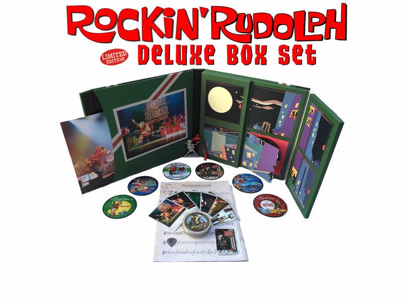 THE BRIAN SETZER ORCHESTRA 'The Rockin' Rudolph Deluxe Box Set' - Cargo Records UK