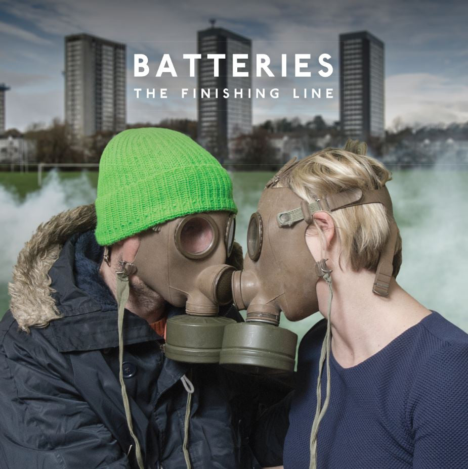 Batteries 'The Finishing Line' - Cargo Records UK - 1