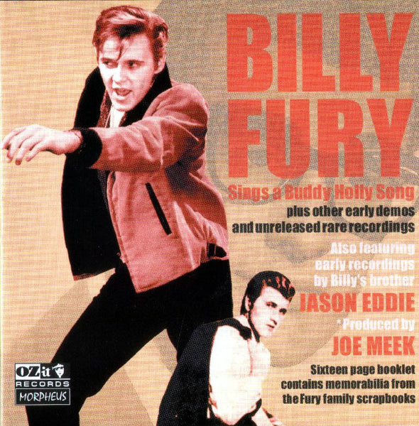 Billy Fury ‎'Sings A Buddy Holly Song' - Cargo Records UK
