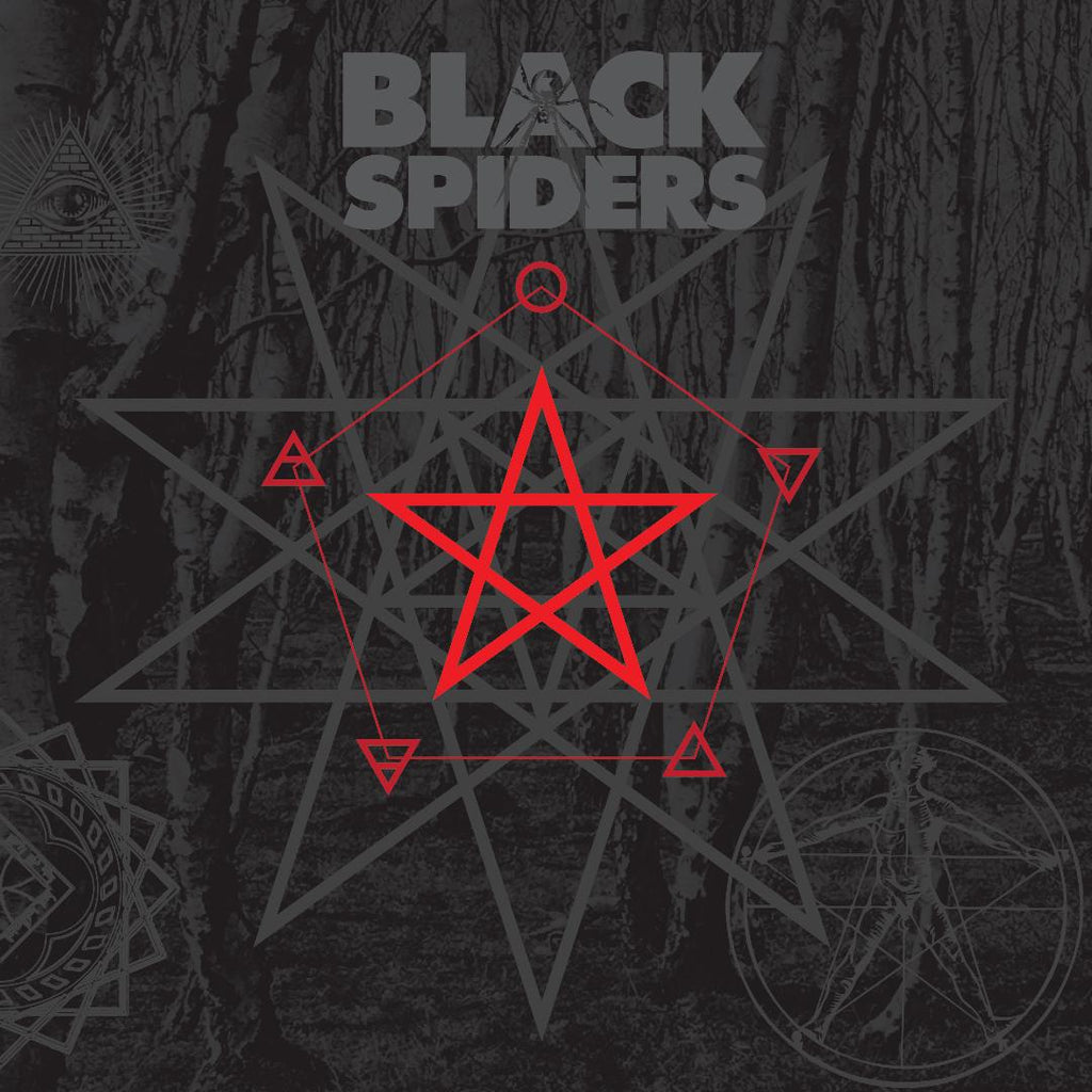 Black Spiders 'Black Spiders' CD