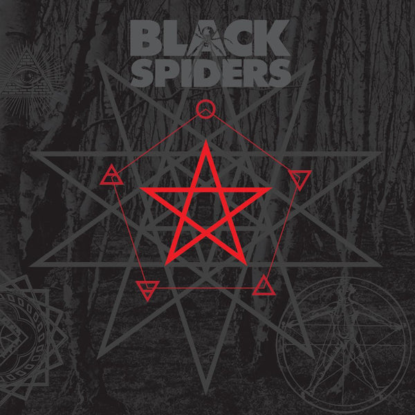 Black Spiders 'Black Spiders' CD PRE-ORDER