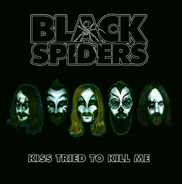 Black Spiders 'Kiss Tried To Kill Me' - Cargo Records UK