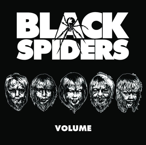 Black Spiders 'Volume' - Cargo Records UK