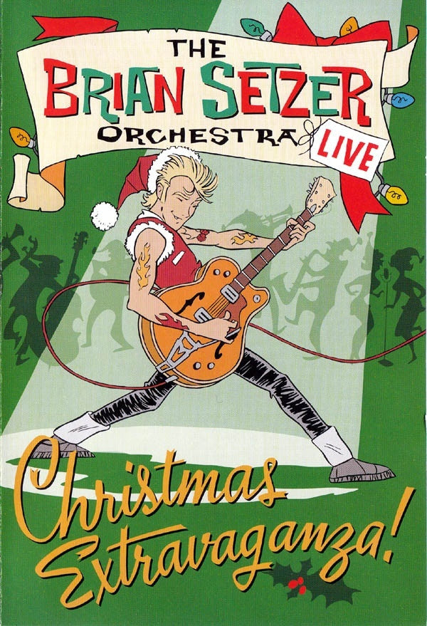 The Brian Setzer Orchestra 'Christmas Extravaganza!' - Cargo Records UK