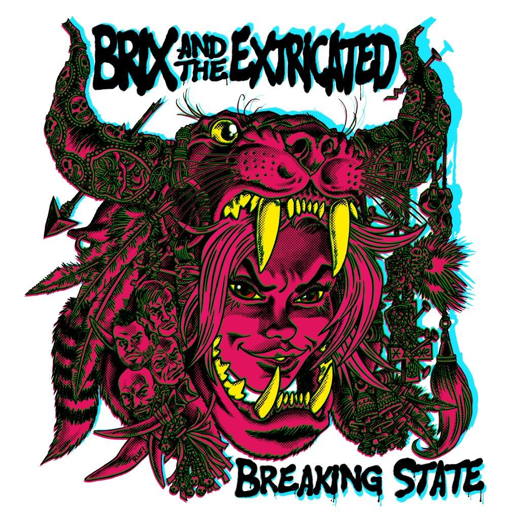 Brix & The Extricated 'Breaking State' CD