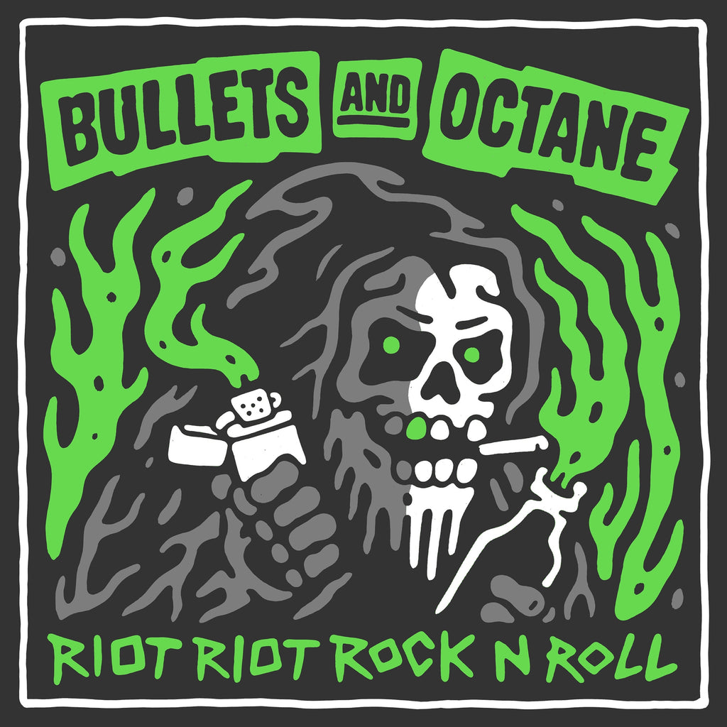 Bullets and Octane 'Riot Riot Rock n' Roll' CD