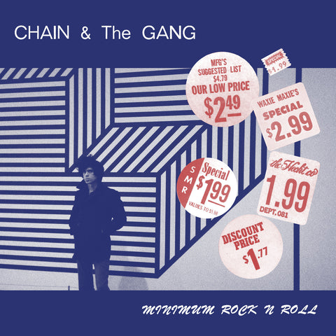 Chain & The Gang 'Minimum Rock N Roll' - Cargo Records UK