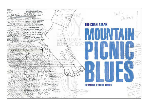The Charlatans 'Mountain Picnic Blues (The Making Of Tellin' Stories)' - Cargo Records UK