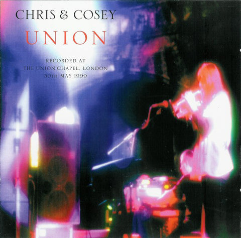 Chris & Cosey 'Union' CD