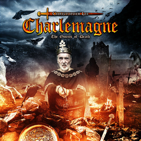 Christopher Lee 'Charlemagne The Omens of Death' - Cargo Records UK
