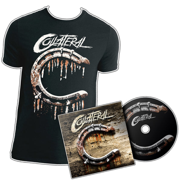 Collateral 'Collateral' CD + T-Shirt PRE-ORDER