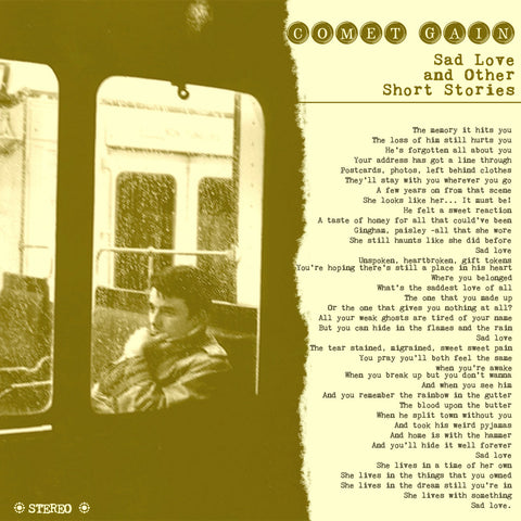 Comet Gain 'Sad Love And Other Short Stories' - Cargo Records UK