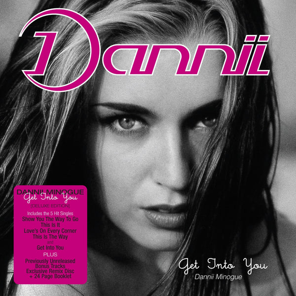 Dannii Minogue 'Get Into You' - Cargo Records UK