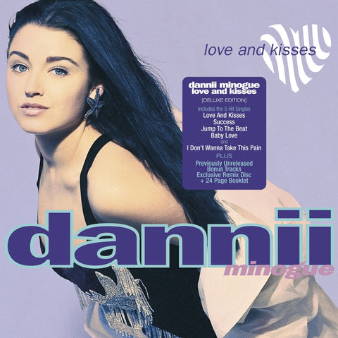 Dannii Minogue 'Love And Kisses' - Cargo Records UK