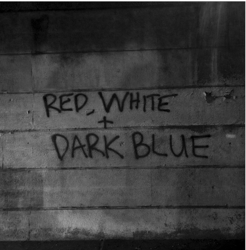 Dark Blue 'Red / White' - Cargo Records UK