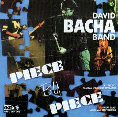David Bacha Band ‎'Piece By Piece' - Cargo Records UK