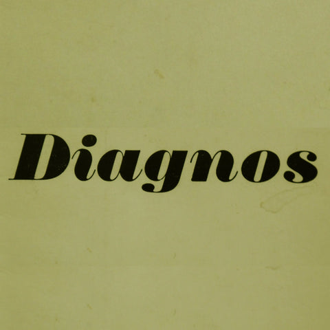 Diagnos 'Diagnos' - Cargo Records UK