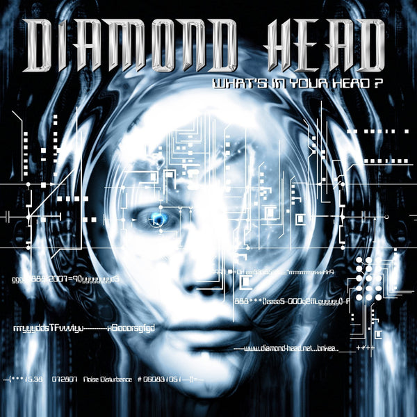 Diamond Head 'What's In Your Head?' CD - Cargo Records UK