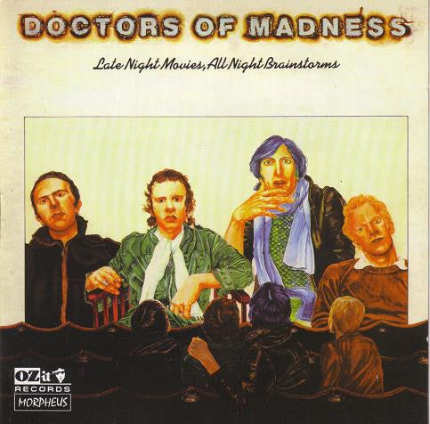 Doctors Of Madness ‎'Late Night Movies, All Night Brainstorms' - Cargo Records UK