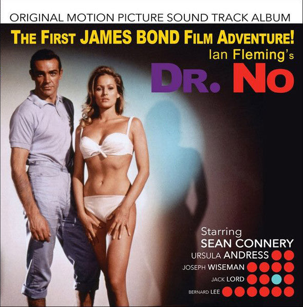 James Bond 'Dr. No (Original Motion Picture Sound Track Album) - Remastered' - Cargo Records UK