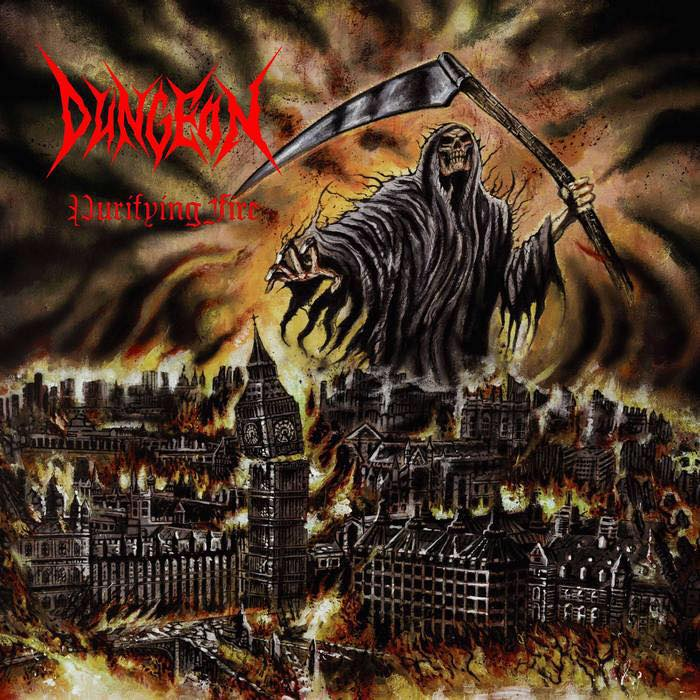 Dungeon 'Purifying Fire' Vinyl LP