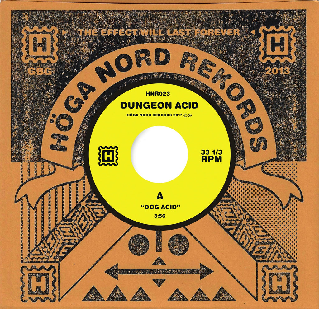 Dungeon Acid 'Dog Acid/Sex Beat' Vinyl 7