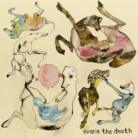 Evans The Death 'Expect Delays' - Cargo Records UK