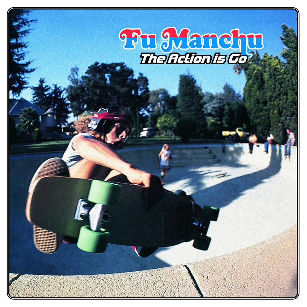 Fu Manchu 'The Action Is Go! Deluxe Edition' Vinyl 2xLP Green/Blue + Vinyl 7